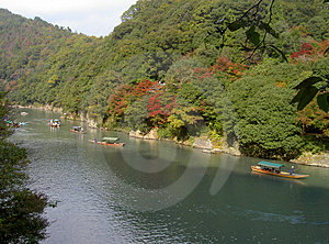 River And Boats Stock Images - Image: 16424