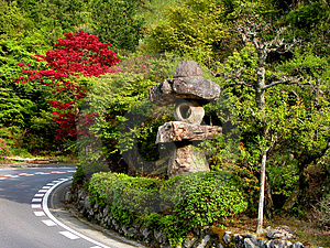 Route Au Japon Photos stock - Image: 16443