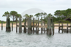 Dock Close Up Royalty Free Stock Photography - Image: 16557