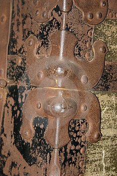 Rusted Hinge Stock Photography - Image: 16652