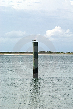 Docking Post  Stock Photos - Image: 16713