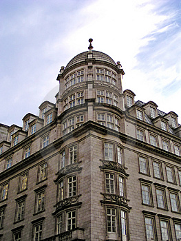 Strand Building (London) Royalty Free Stock Image - Image: 17046