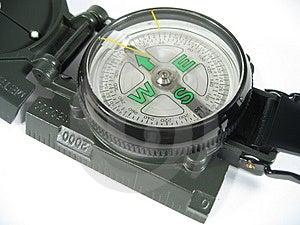 Compass Close-up I Stock Photo - Image: 17150