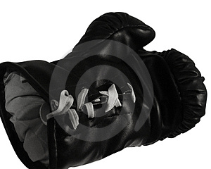 Boxing Glove Open Hand Royalty Free Stock Images - Image: 17199