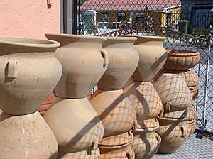 Pile Of Pots Royalty Free Stock Photography - Image: 17767