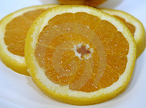 Orange Slice Royalty Free Stock Photo - Image: 17815