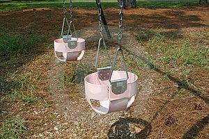 Baby Swings Royalty Free Stock Photos - Image: 17878