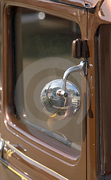 Antique Car Detail  Stock Photo - Image: 18130