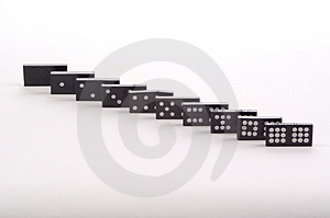 Domino Doubles Royalty Free Stock Image - Image: 18276