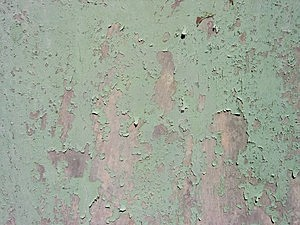 Metal Door With Cracked Paint Royalty Free Stock Photos - Image: 18378
