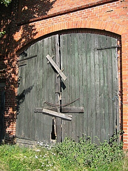 Barn Door Royalty Free Stock Photography - Image: 18707