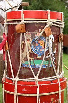 Marching Drum Stock Images