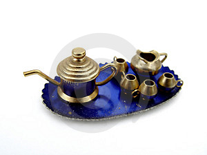 Miniture Tea Set Royalty Free Stock Photo - Image: 19565