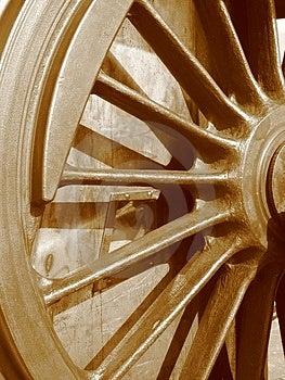 Locomotive Wheel Royalty Free Stock Photos