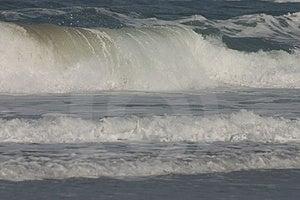 Large Waves. Stock Photography