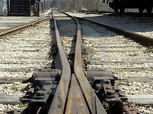 Rail Crossing Free Stock Photo