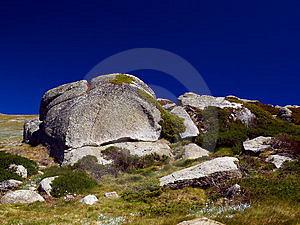 Boulders Royalty Free Stock Photography