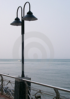 Light Post Stock Images