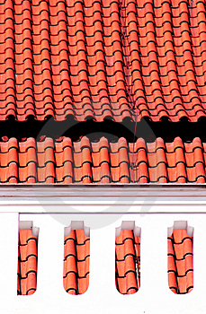 Roofs Free Stock Photography