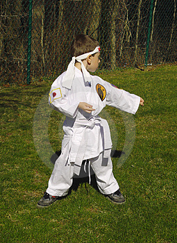 Karate Kid Stock Images