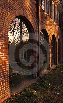 Arches and Reflections Royalty Free Stock Photos
