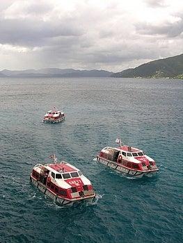 Lifeboats Free Stock Photo