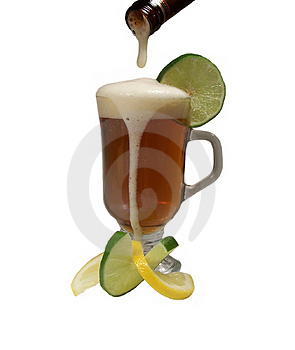 Αναζωογονώντας ποτό Στοκ Εικόνες