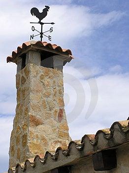 Stoned Chimney Free Stock Photography