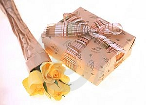 Gift Box Stock Image