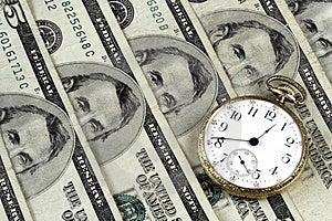 Czas I pieniądze Zdjęcia Royalty Free