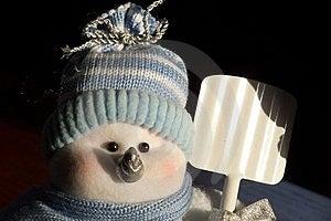 Snowman Free Stock Photo