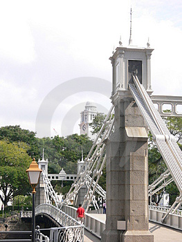 Architecture - Bridge And The Victoria Memorial Hall Stock Images