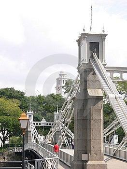 Architecture - Bridge And The Victoria Memorial Hall Immagini Stock