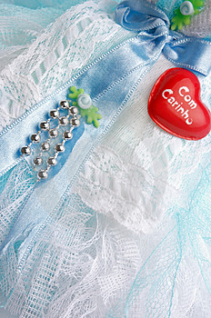 Doll Dress Detail Stock Images