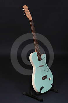 Standing Guitar Free Stock Photo