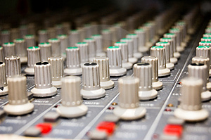 Studio Mixer Stock Images