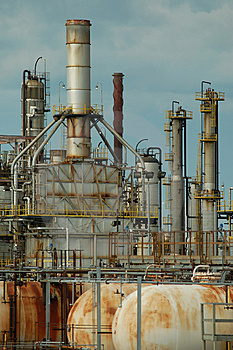 Detail of a refinery 4