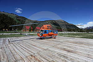 The Helicopter Stock Photo - Image: 10000540