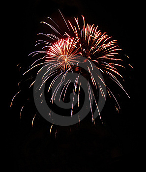 Fireworks1 Royalty Free Stock Photos - Image: 10004498