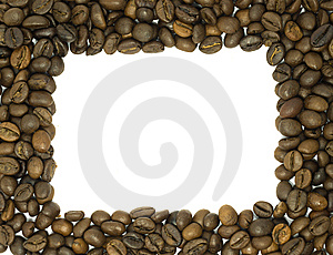Coffee Beans Frame Royalty Free Stock Images - Image: 10004759