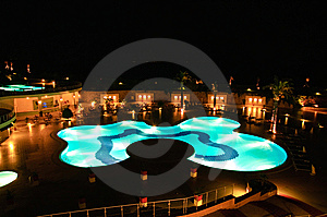 Swimming Pool Stock Image - Image: 10008581