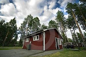 Camp Site Hut Stock Photo - Image: 10010480