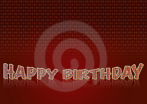 Happy Birthday2 Stock Image - Image: 10010771