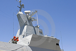 Superstructure Of Frigate Stock Photo - Image: 10011590