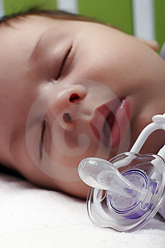 Baby And Dummy Royalty Free Stock Images - Image: 10013919