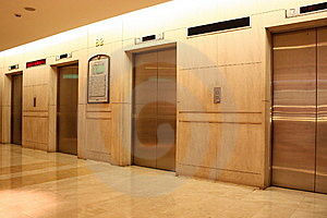 Elevators Royalty Free Stock Photo - Image: 10014815