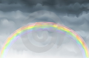 Rainbow Stock Photo - Image: 10015890