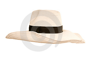 Beide woman's hat Royalty Free Stock Image