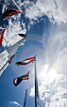 Thailand National Flag Stock Images - Image: 10016134