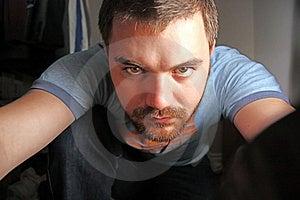 Intense Eyes #2 Stock Photos - Image: 10016783